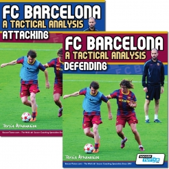 FC Barcelona: A Tactical Analysis - Attacking and defending book